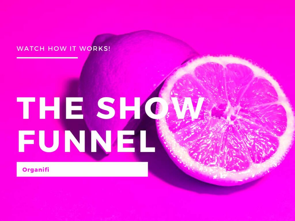 Organifi Show Funnel