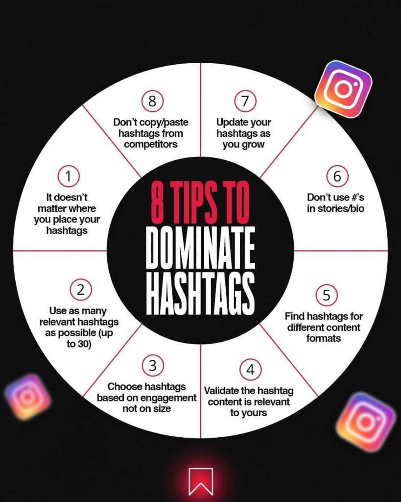 8 Tips To Dominate Hashtags
